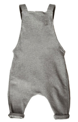 gray label | grey MELANGE ORGANIC  salopette | www.theminilife.com