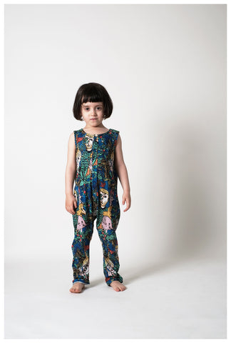 WOLF AND RITA x JC CASTELBAJAC | Martim Jumpsuit - Dans La Foret | The Mini Life