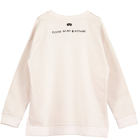 Beau Loves - Chalk Blush Square Sweater