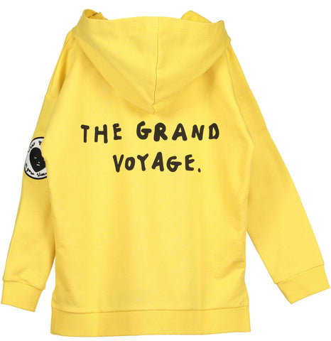 Beau Loves - Yellow The Grand Voyage Zip Square Hoodie