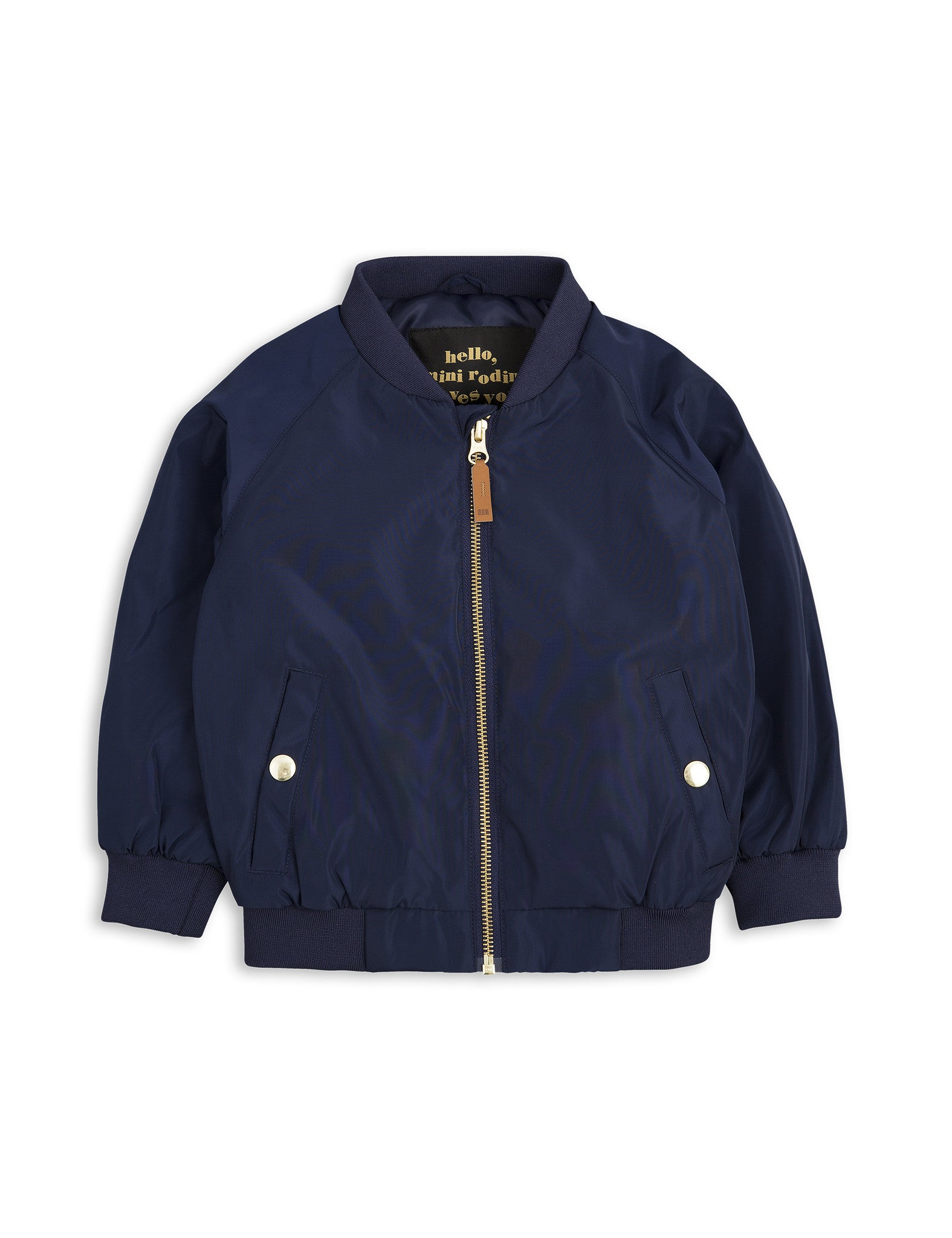 Mini Rodini | Navy Frog Baseball Jacket | The Mini Life