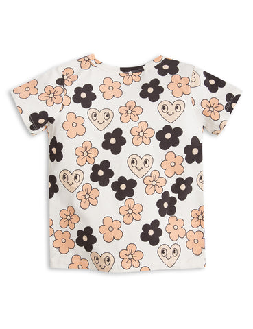 Mini Rodini SS17 | Flowers Tee | The Mini Life, Canada