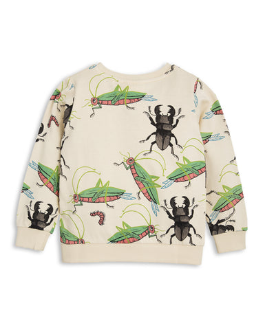 Mini Rodini SS17 | Insects Sweatshirts - Beige | The Mini Life, Canada