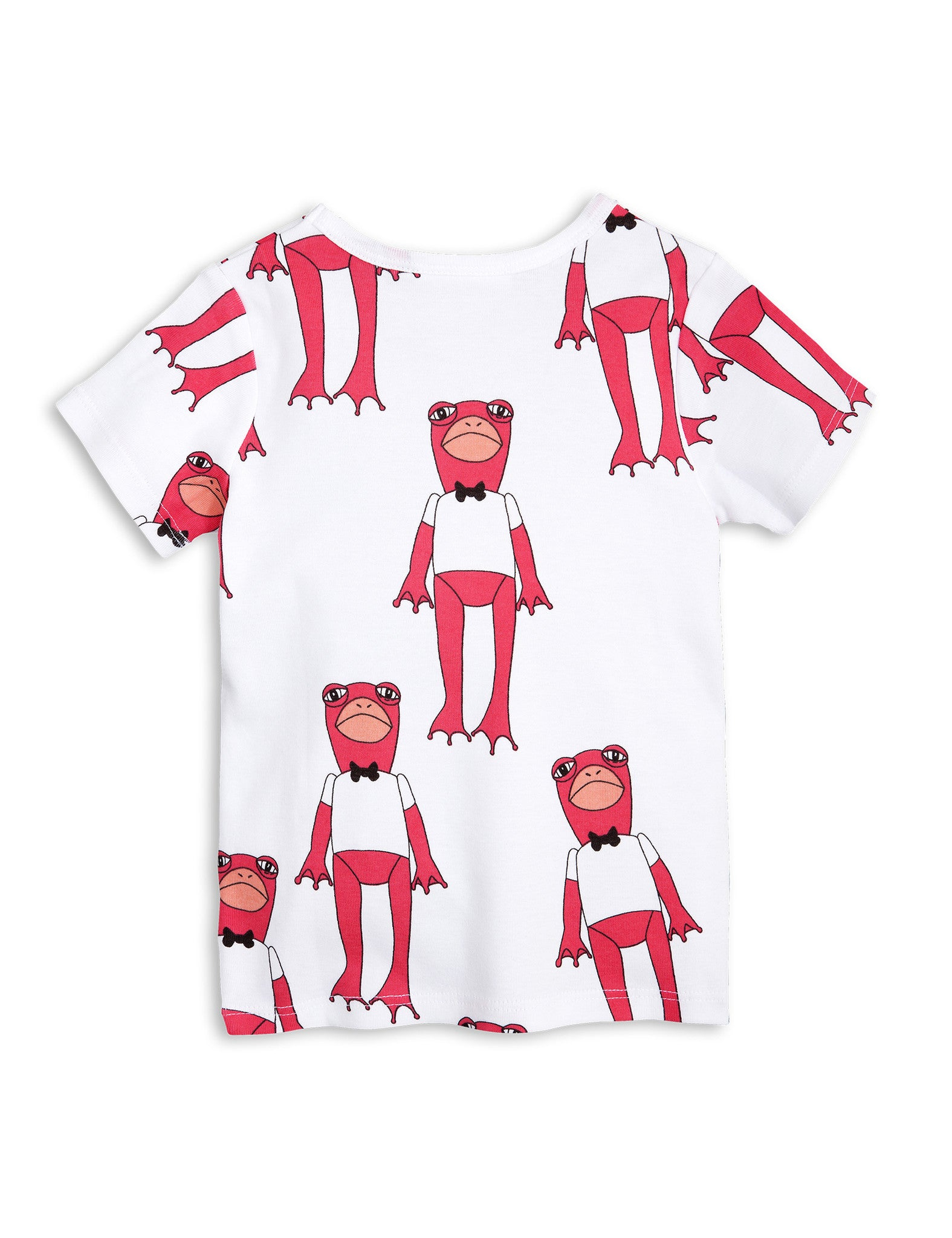 Mini Rodini | Frog Tee - Cerise | The Mini Rodini