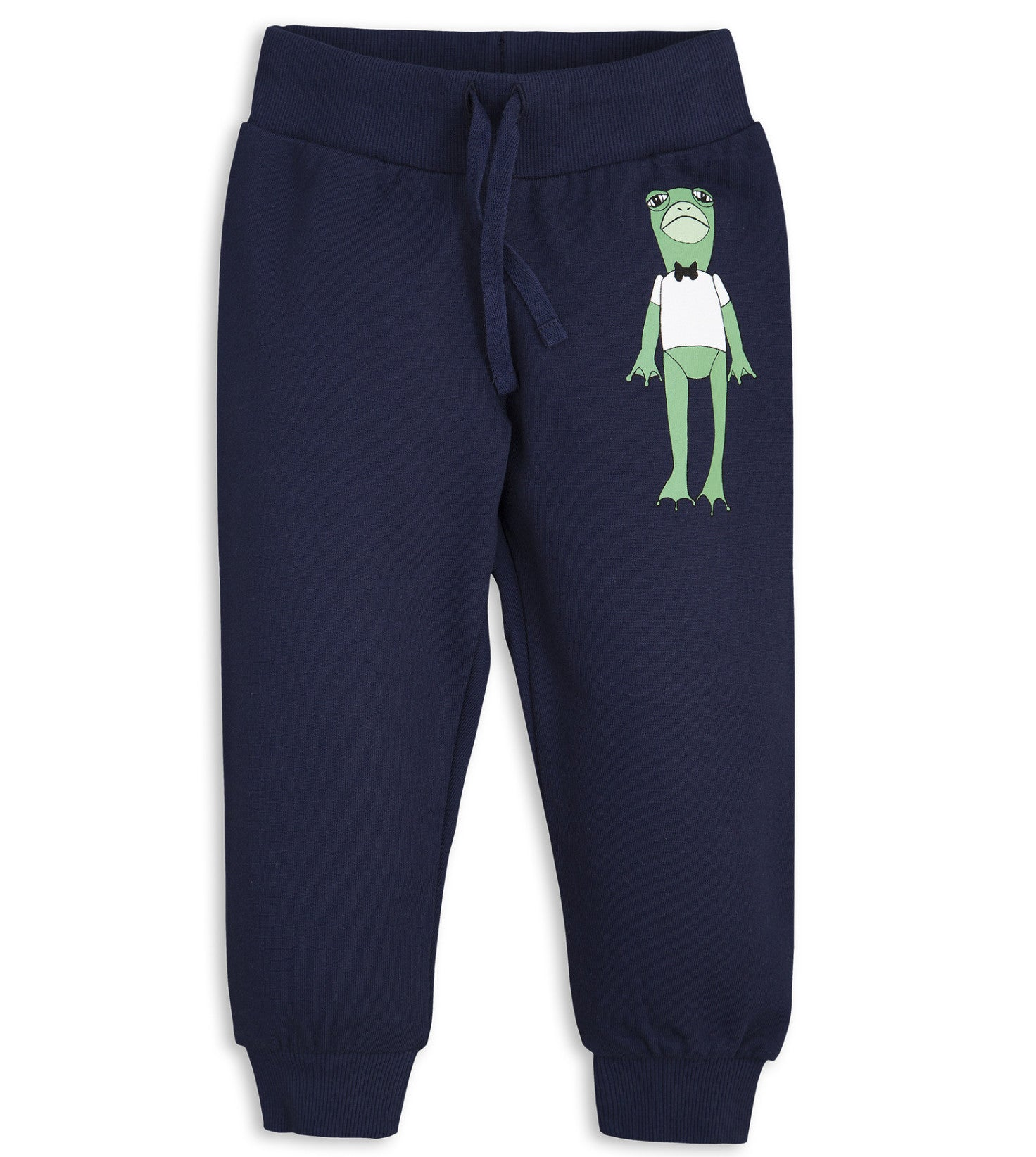Mini Rodini | Frog Sweatpants - Navy | The Mini Life