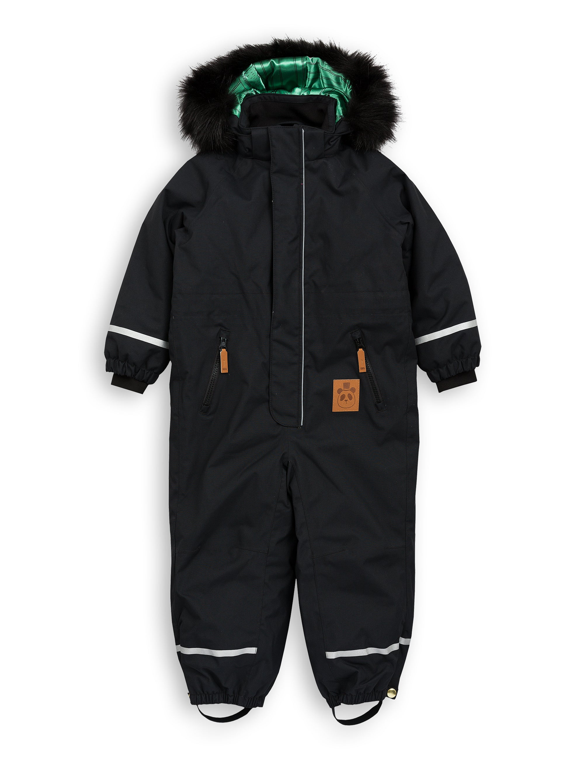 Mini Rodini - Kebnekaise Fox Family Overall Black