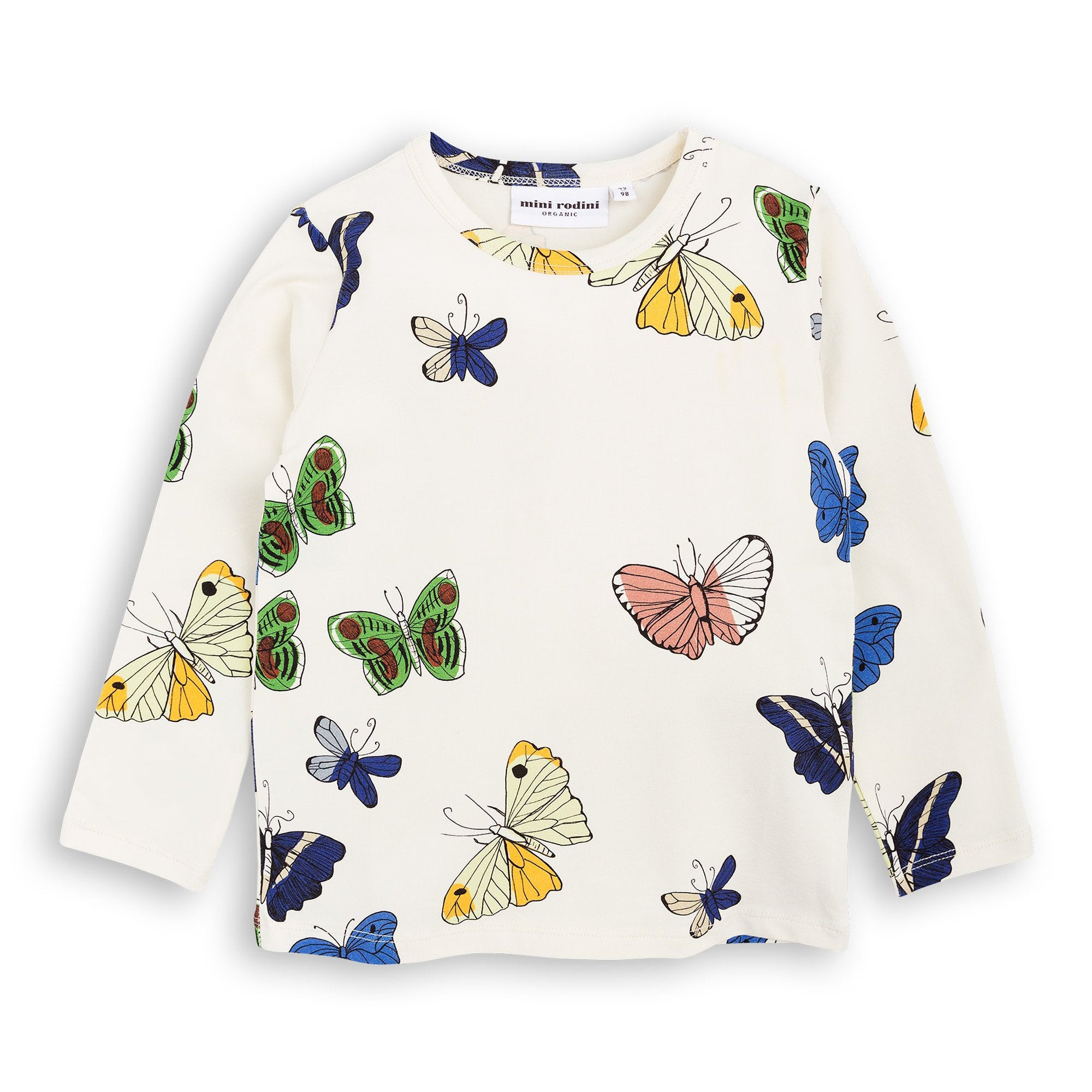 Mini Rodini - Butterflies Long Sleeve Tee
