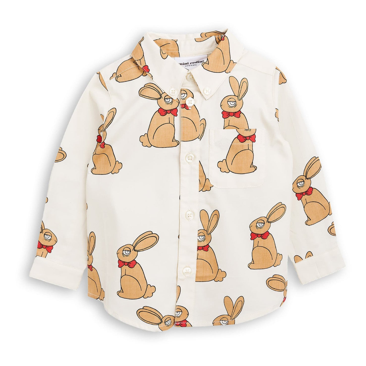 Mini Rodini Rabbit Woven Shirt