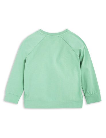 Rabbit Long Sleeve Tee Green Mini Rodini - The Mini Life
