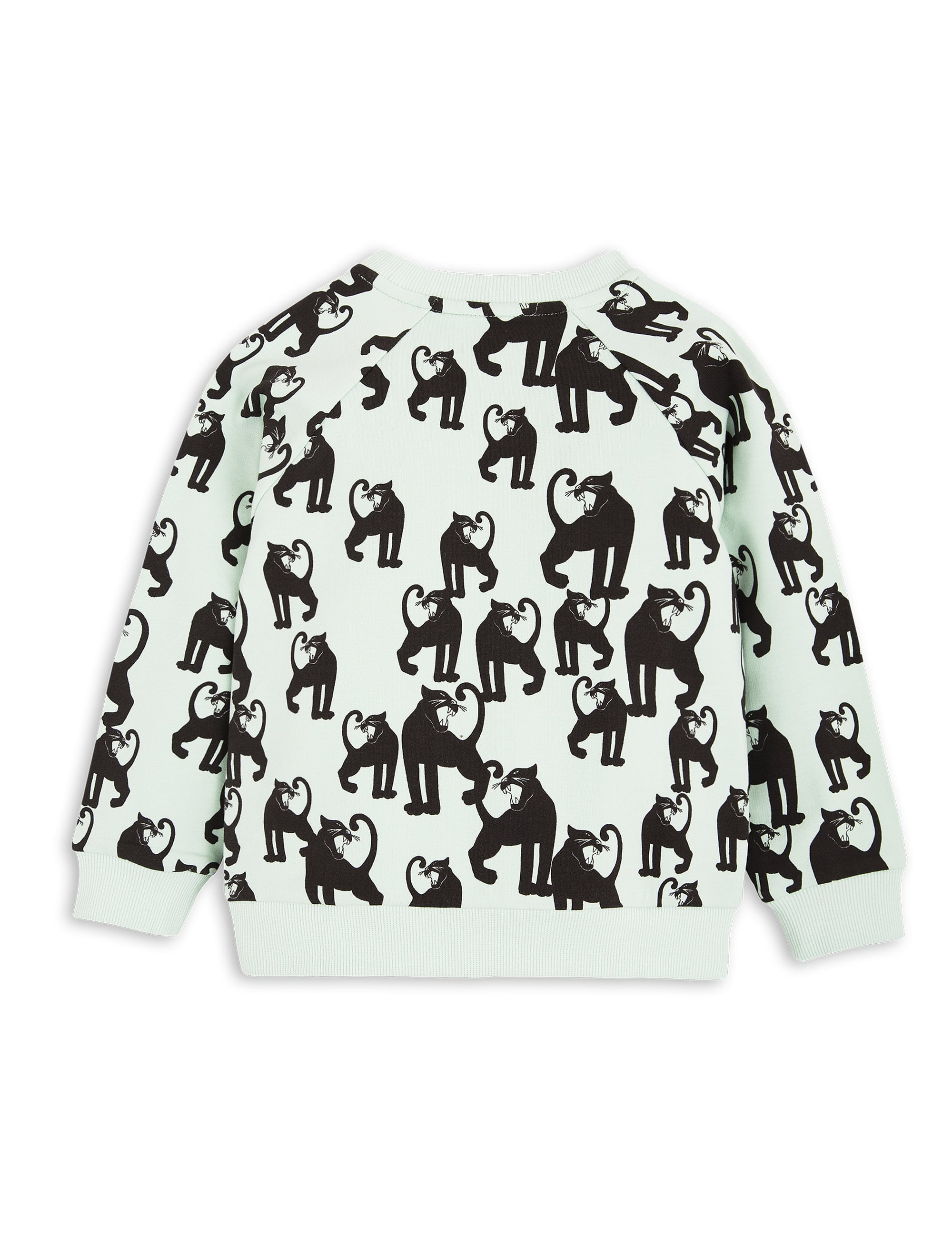 Panther Sweatshirt Light Green Mini Rodini | The Mini Life