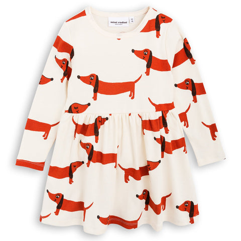 Mini Rodini - Dog Dress White