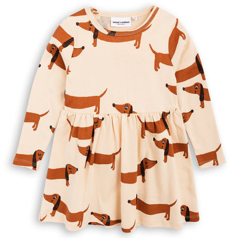 Mini Rodini - Dog Dress Beige