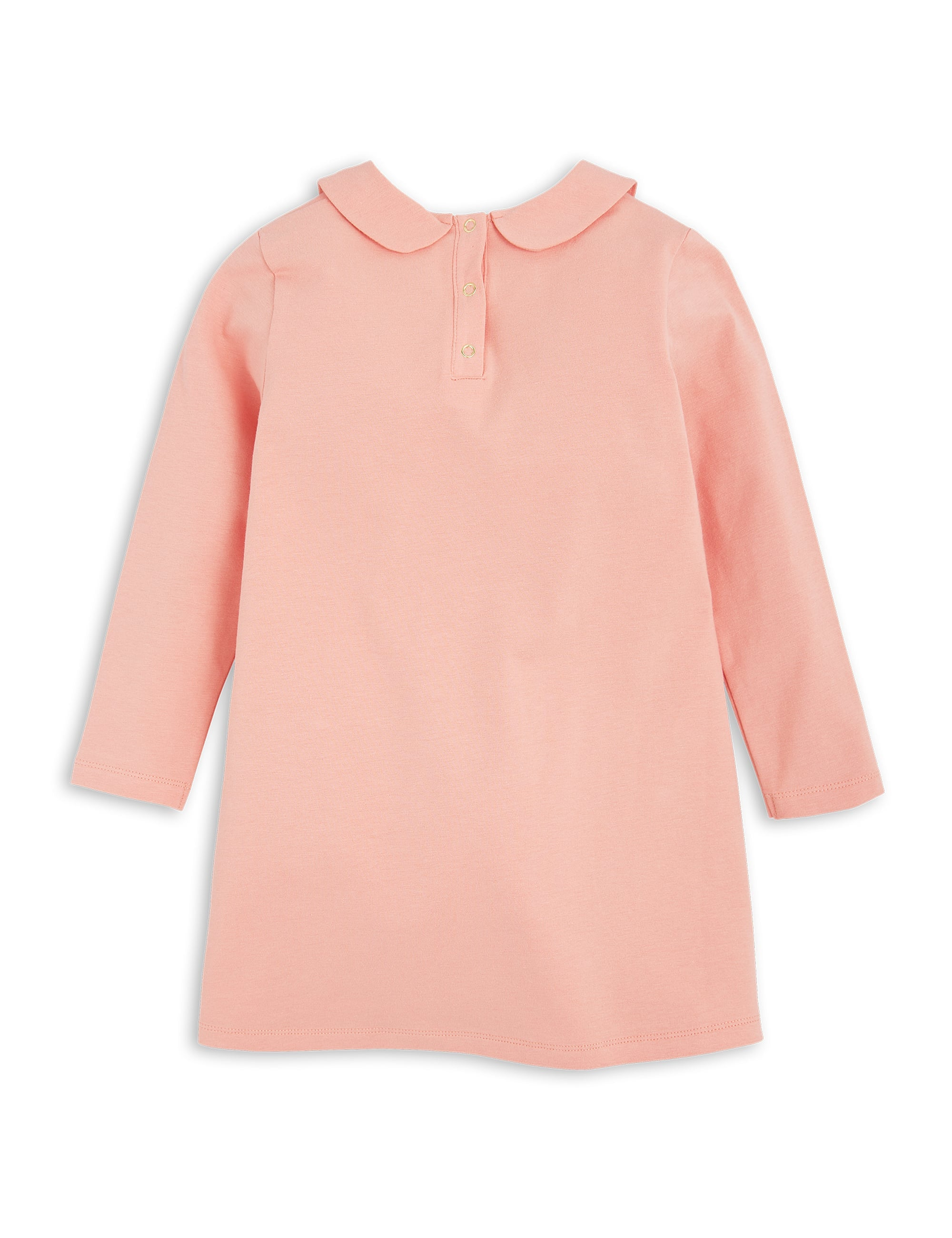 Rabbit Collar Dress Pink Mini Rodini | The Mini Life