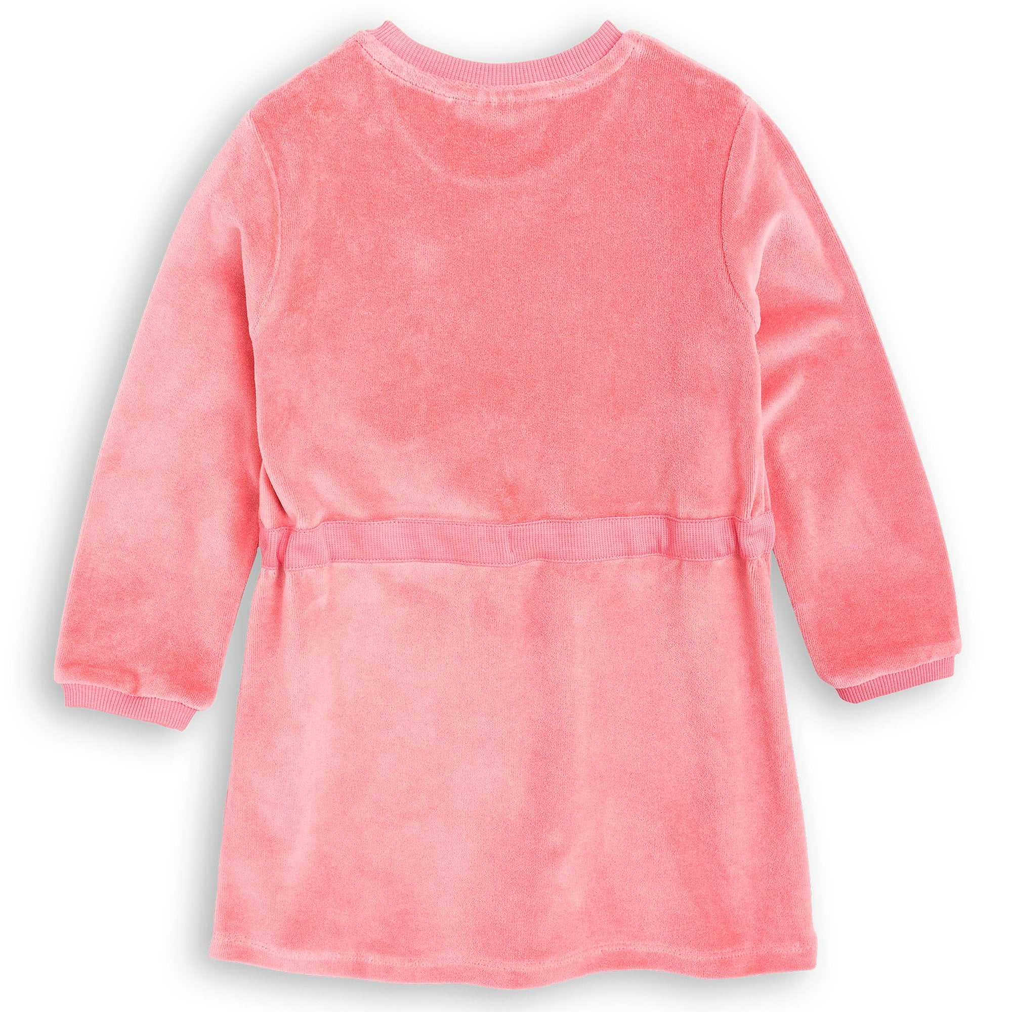 Mini Rodini - Fox Velour Dress Pink