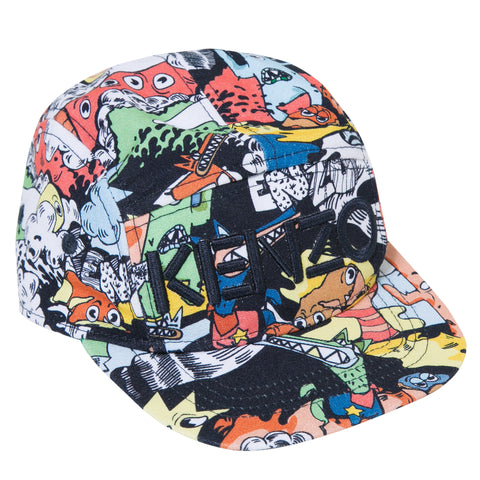 Kenzo Kids | Cartoon 5 Panel Cap | The Mini Life