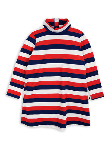 Blockstripe L/S Dress