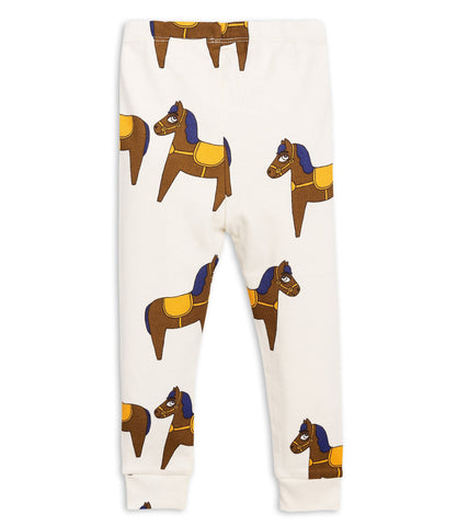 Mini Rodini - Horse Leggings Yellow