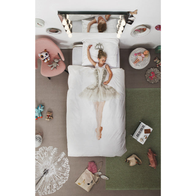 Snurk Kids Bedding | Ballerina Bedding Set | theminilife.com