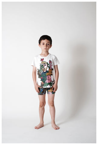 WOLF AND RITA x JC CASTELBAJAC | Carlos Swimshorts - Dans La Foret | The Mini Life