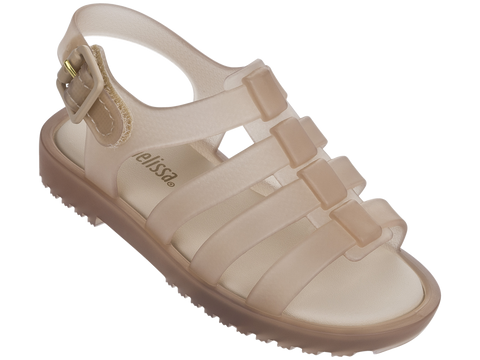 Mini Melissa | Flox - Clear Beige | The Mini Life