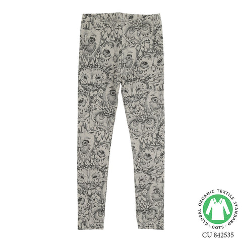 Soft Gallery Owl Junior Leggings Drizzle - The Mini Life