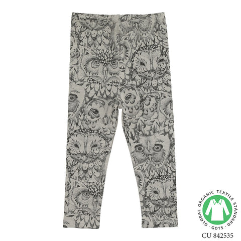 Soft Gallery Owl Baby Leggings -  The Mini Life