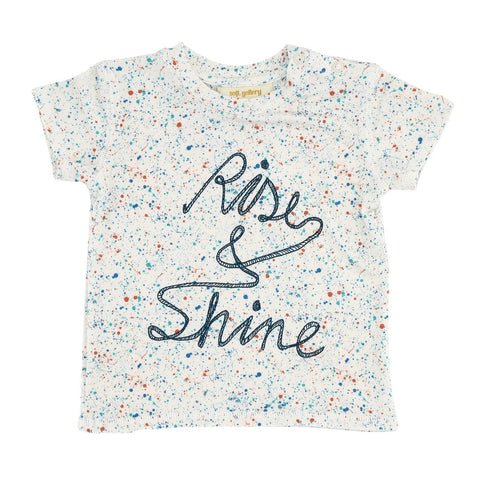 Soft Gallery | Rise & Shine Tee - Blue Dust | The Mini Life