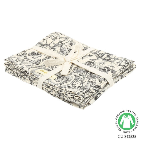 Soft Gallery Owl Muslins Cream - The Mini Life