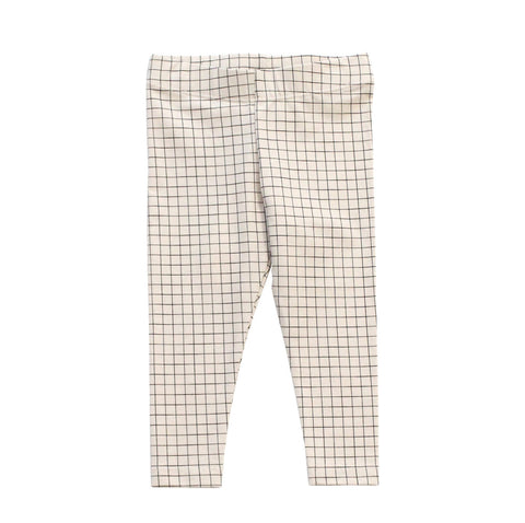 Tiny Cottons | Medium Grid Pant - Black | The Mini Life: Toronto, Canada
