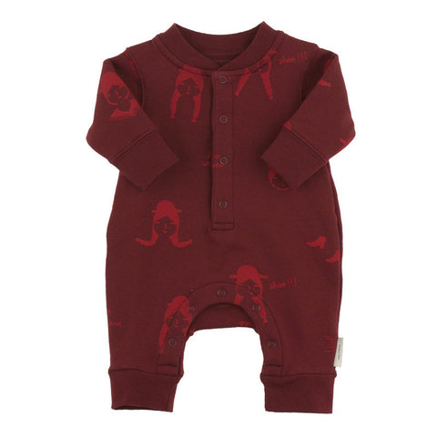 Tiny Cottons No-Worry Dolls Fleece Onepiece - The Mini Life