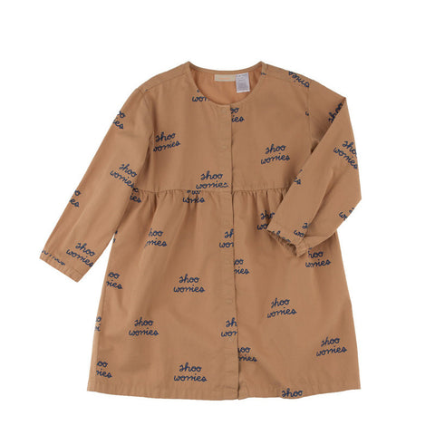 Tiny Cottons Shoo Worries Woven Dress - The Mini Life