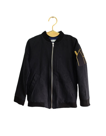 Wolf and Rita | Alberto Bomber Jacket - Black
