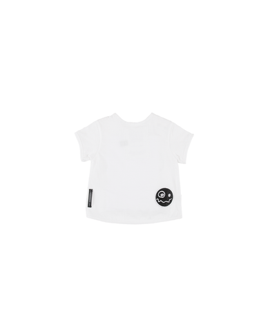 Loud Apparel | Peek Baby Tee - White | The Mini Life