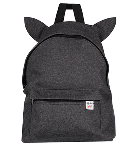 Beau Loves Backpack with Ears - Slate Grey
