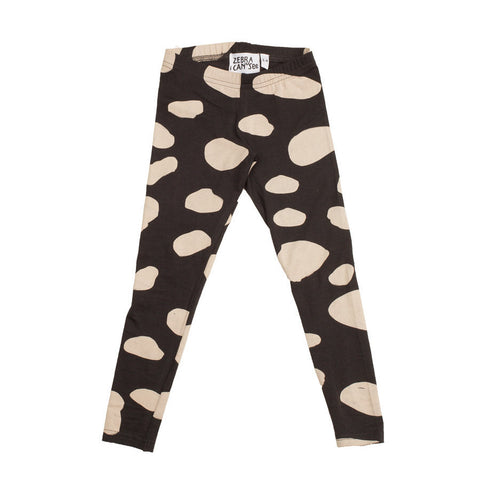 Zebra I Can See | Black Cow Leggings | The Mini Life, Canada