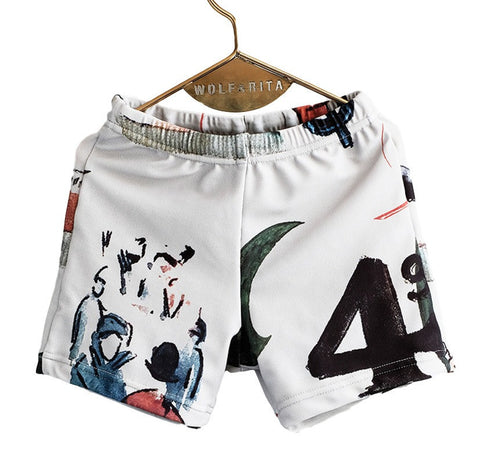 Wolf ad Rita | L'Art Carlos Swimshorts | The Mini Life