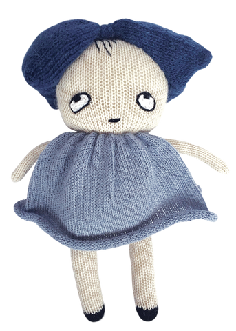 LUCKYBOYSUNDAY | Chipper Knit Doll | www.theminilife.com