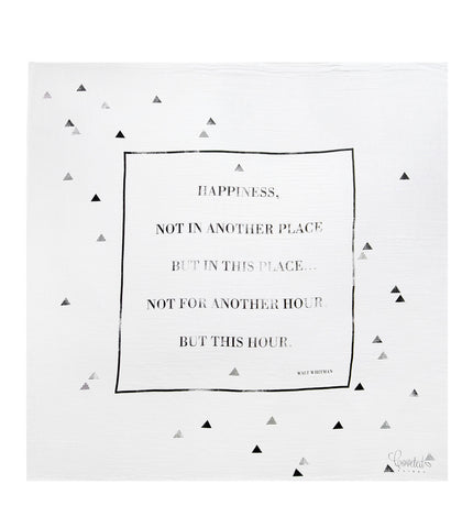 Coveted Things | Happiness Baby Swaddle Blanket | www.theminilife.com