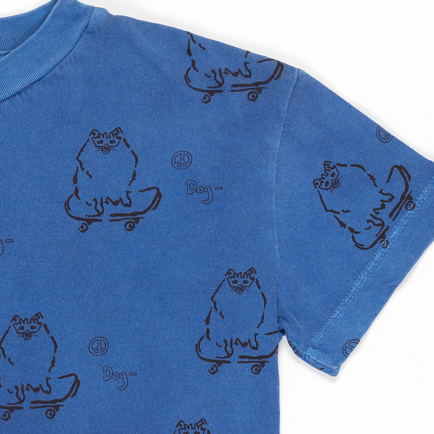 FRESH DINOSAURS - Blue Otto Peace Tee
