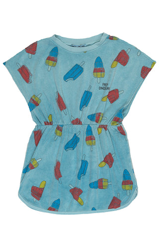FRESH DINOSAURS - Ice Pop Towel Dress