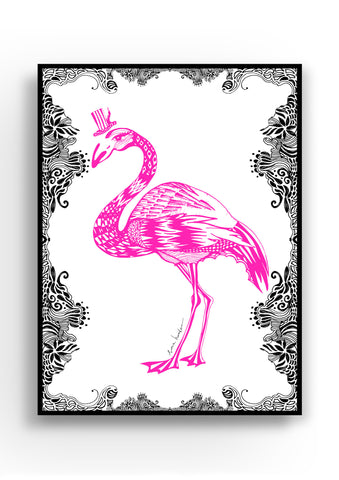 MAIKO MINI | PINK FLAMINGO PRINT | WWW.THEMINILIFE.COM