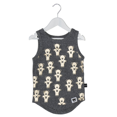 Huxbaby | Soldier Bears Tank - Gold | The Mini Life, Canada
