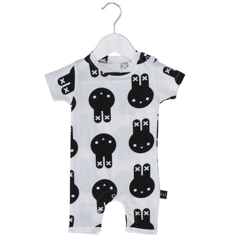 Huxbaby | Hux Bunny Short Romper | The Mini Life