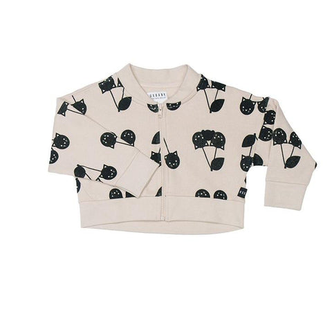 Huxbaby - Cherry Cat Balloon Jacket