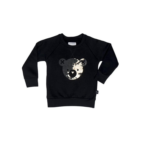 Splash Bear Fleece Sweatshirt