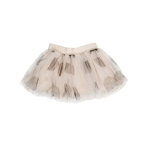 Huxbaby - Shell Cherry Cat Tulle Skirt