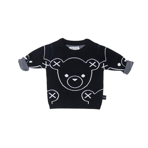 Huxbaby - Hux Bear Knit Sweater