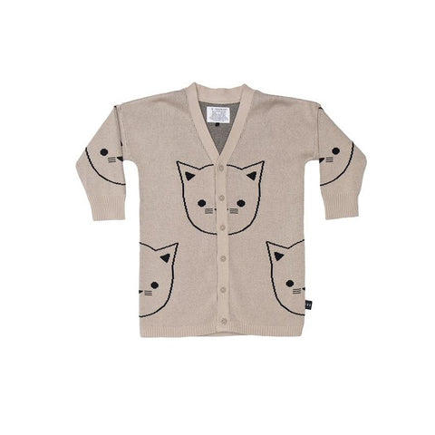 Huxbaby - Hux Cat Knit Cardigan