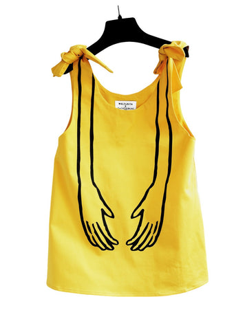 WOLF AND RITA x JC CASTELBAJAC | Yellow Ones Blouse - The Mini Life