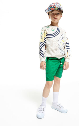 Kenzo Kids | Mulit Logo Sweatshirt | The Mini Life